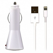 АЗУ SmartBuy ONE, 1A, Lightning, iPhone 5/iPad Mini/New iPad